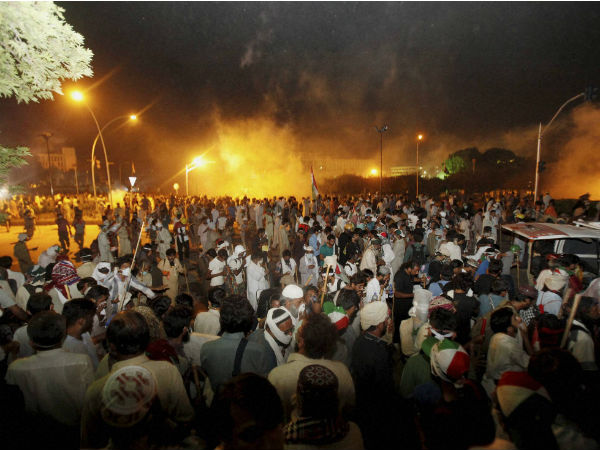 Pakistan protest