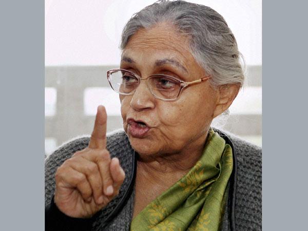Delhi govt: Sheila Dikshit remains firm