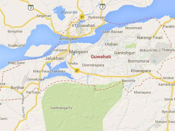 guwahati-map