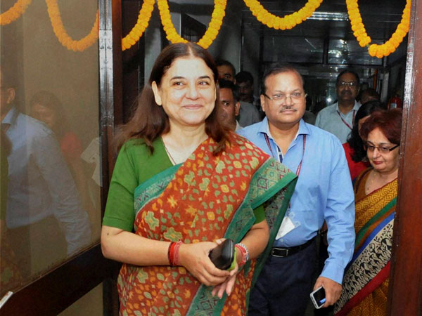 Maneka's sudden focus on beef slaughter!