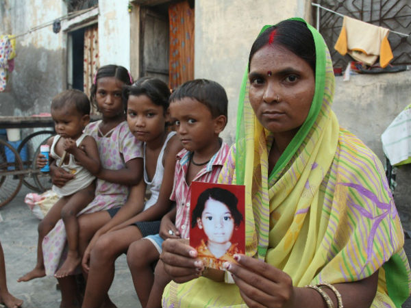 18 children go missing in Delhi everyday.