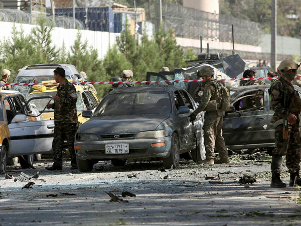 Three NATO troops killed in Kabul