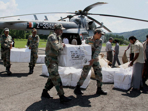 Chaos in J&K: Relief distribution hit