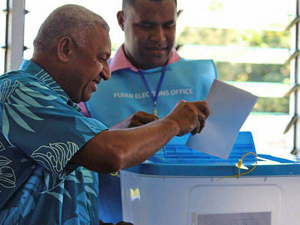 Fiji holds general elections