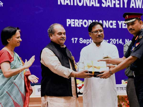 National Safety Award 2012 to 509 Army Base Workshop