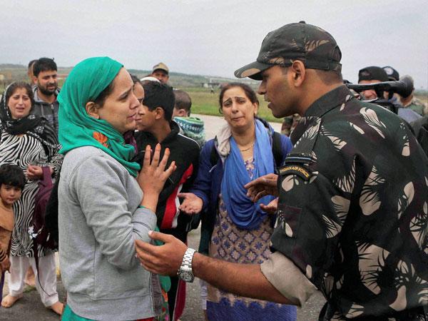 Flood victims run from pillar to post
