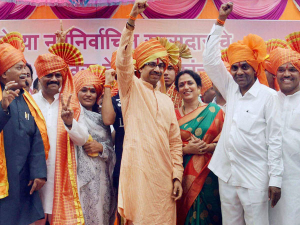 BJP talks about alliance with Shiv Sena