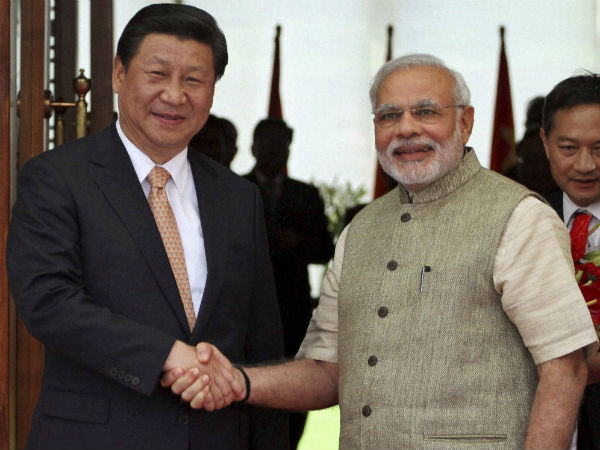 Chinese Premier Xi Jinping on a visit to India.
