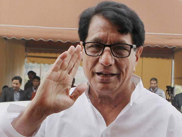 Former Union Minister Ajit Singh.