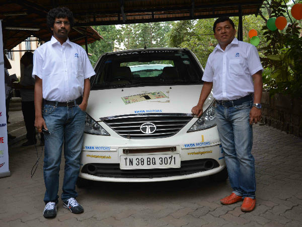 Chidanand and Sujith are ready for another round of TSD Rally