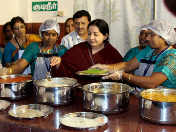 Jaya launches four more Amma canteens