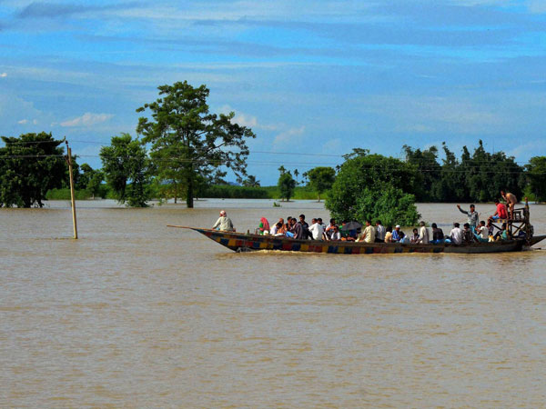Assam floods: 11 NDRF teams deployed for relief operations