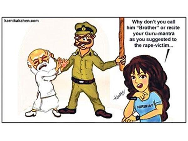 The 'Nirbhaya' cartoon goes global!
