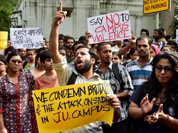 Bangladesh activists support Jadavpur students