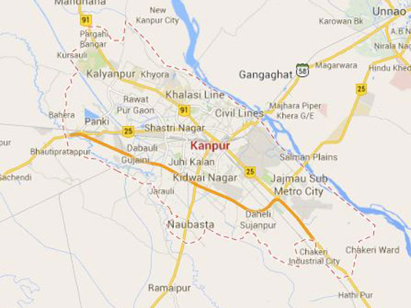 Kanpur India Map Related Keywords Suggestions Kanpur India Map