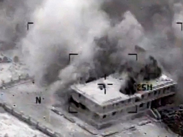 US carries out airstrikes in Syria