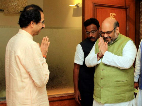 Shiv Sena-BJP called off their 25-year-old marriage.