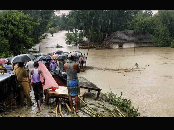 Assam floods: 67 dead, Rajnath to visit flood-hit areas on Wednesday