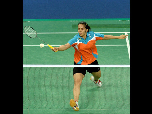 Saina Nehwal in action in Incheon