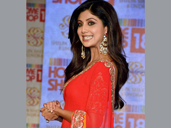 Bollywood actor Shilpa Shetty at a launch event