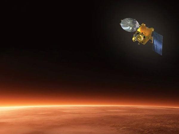 Mars Orbiter having fun up there?