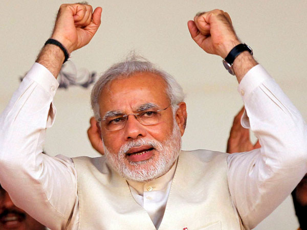 Modi sees high tide of hope for India