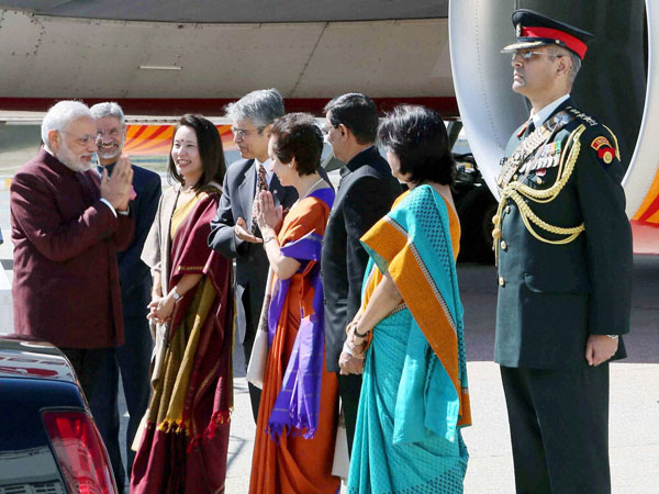 Indian-Americans plan reception for Modi