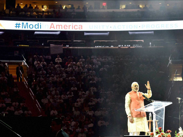 PM Modi at Madison Square