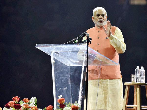 Modi's Madison speech is a super hit