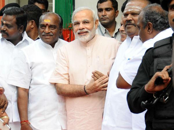 Modi in Chennai