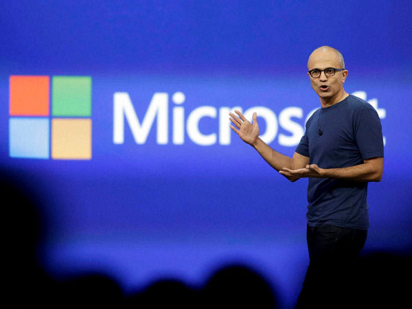 Fall in love with what you do, Satya Nadella advises students