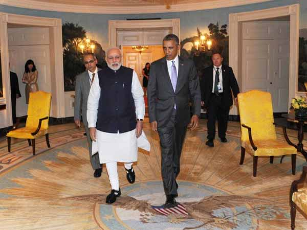 Obama hosts dinner for Modi