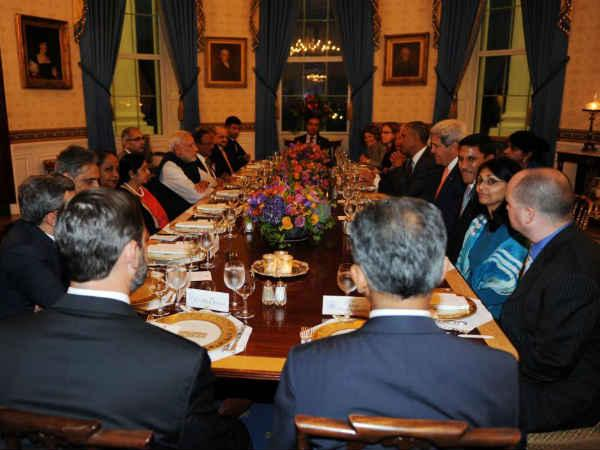 Modi keeps away from exquisite food