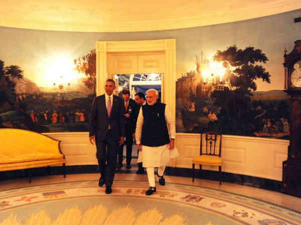 Modi-Obama meet: PM expresses on FB