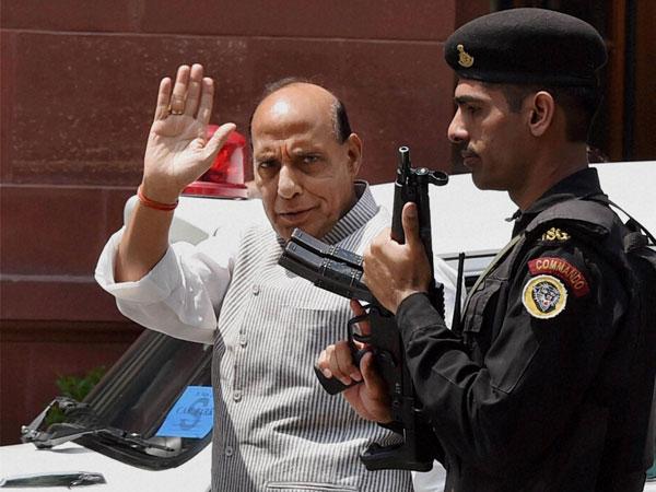 Rajnath Singh visit: Security tight