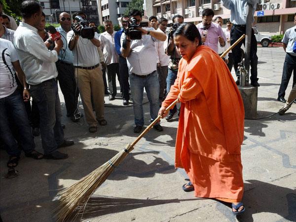 Uma Bharati to lead 'Clean India' Oct 2