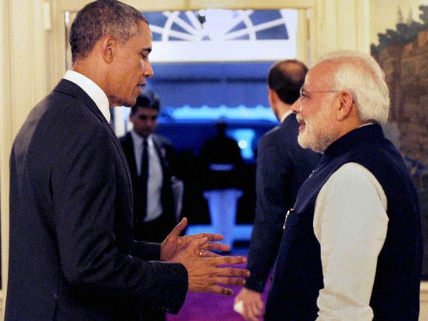 Modi and Obama in US