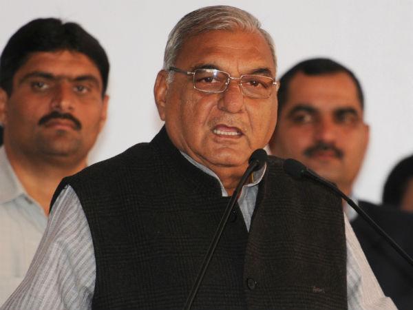 Haryana CM Bhupinder Singh Hooda