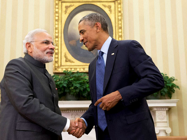 Obama, Modi vow for maritime security