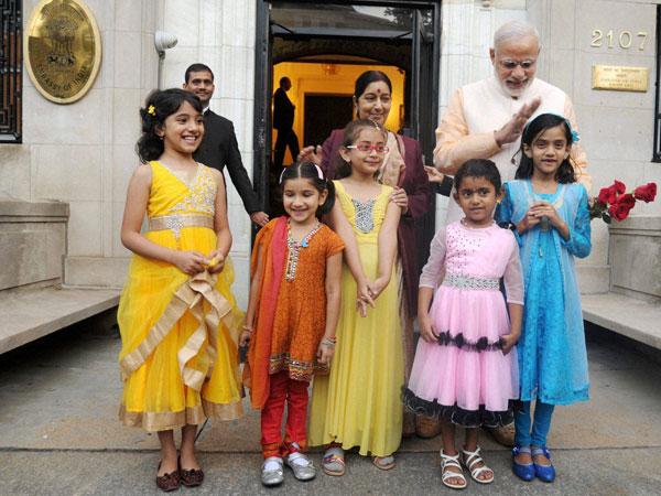 Narendra Modi in Washington
