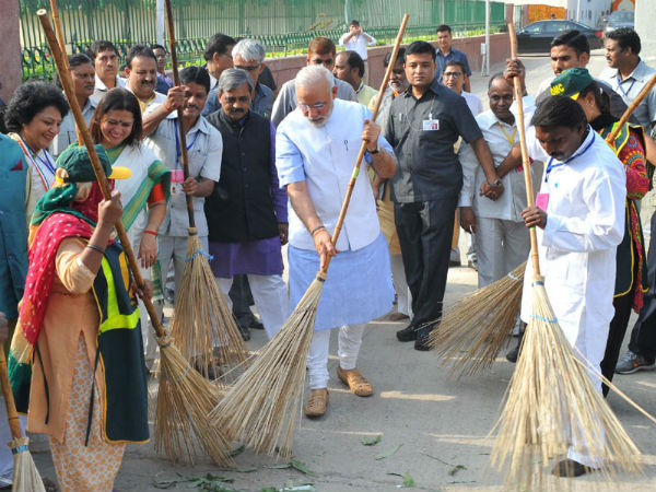 Funding of the Swachh India Mission