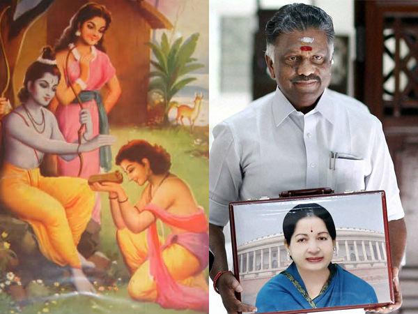 Jayalalithaa's modern age Ramayan!