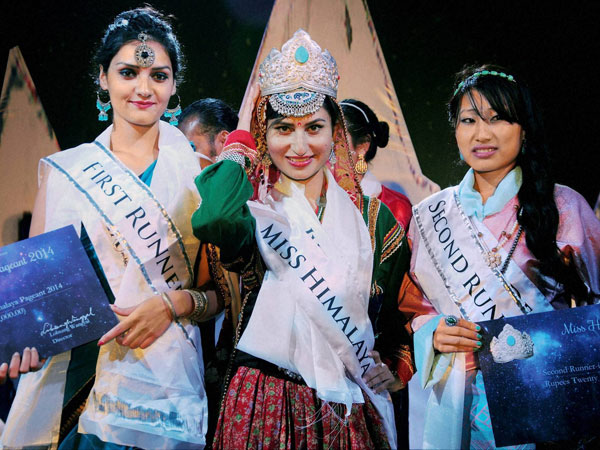 Jyoti Dogra, winner of Miss Himalaya Pageant 2014