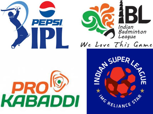 Full list of India's major sports leagues