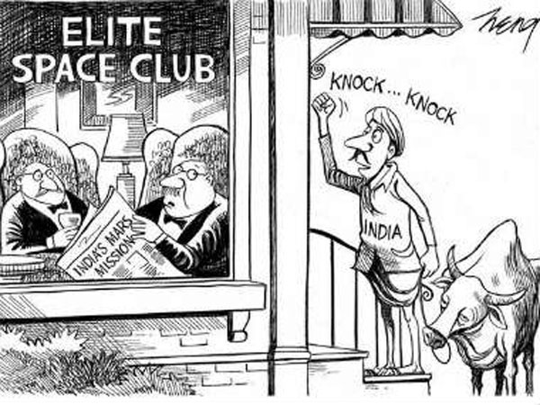 New York Times says sorry after social media, readers hit out at racist cartoon on Mangalyaan