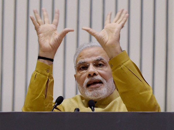Shiv Sena takes a jibe on Modi