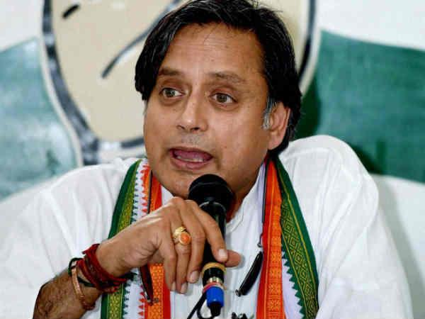 Tharoor steps back; scared of Congress?