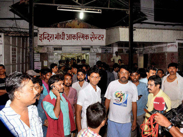 Patna Stampede: Actions on medical staff