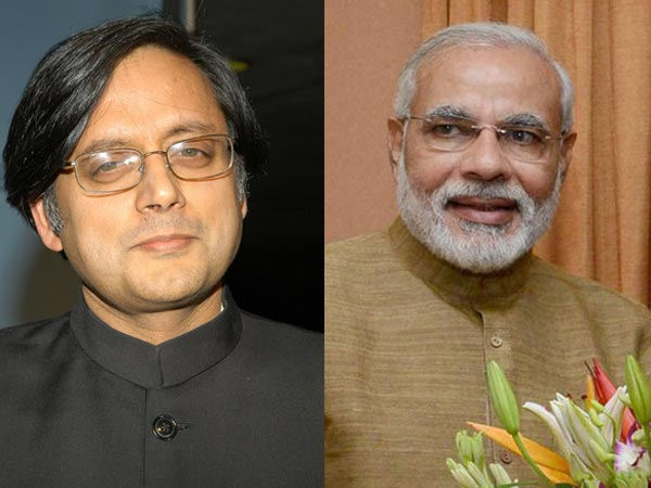 Cong daily takes potshots on Tharoor for praising Modi