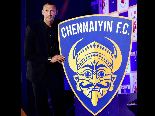 Italian World Cup winner Marco Materazzi is player-manager of Chennaiyin FC